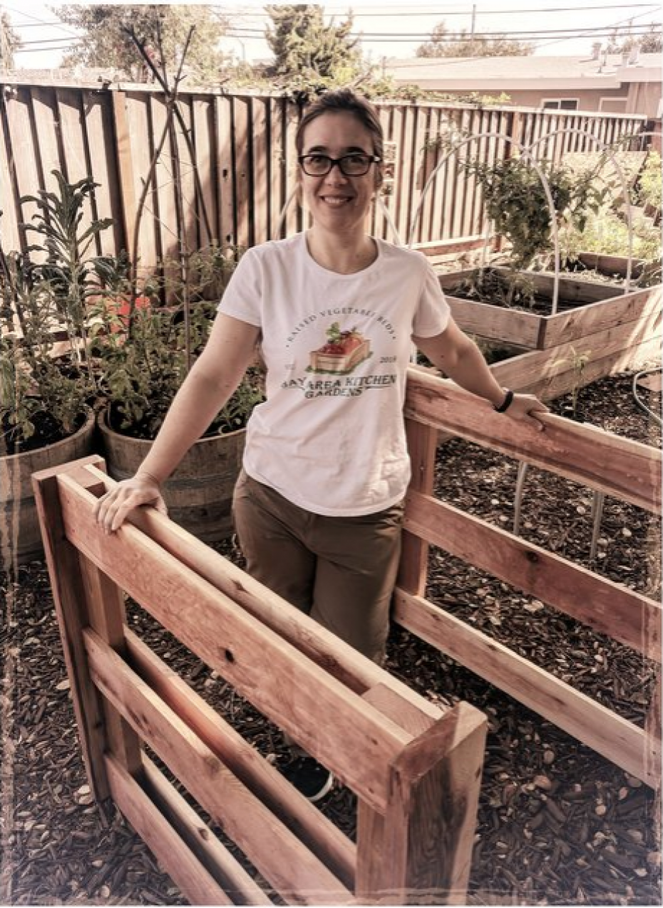 Silvia of Bay Area Kitchen Gardens