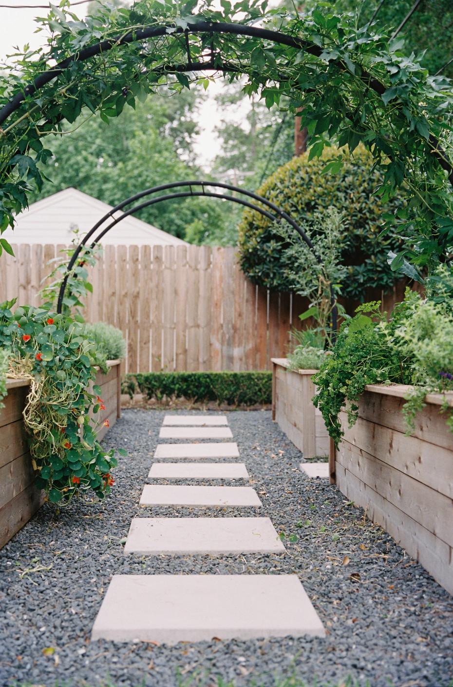 Arch Garden Trellis Ideas from Nicole Burke of Gardenary