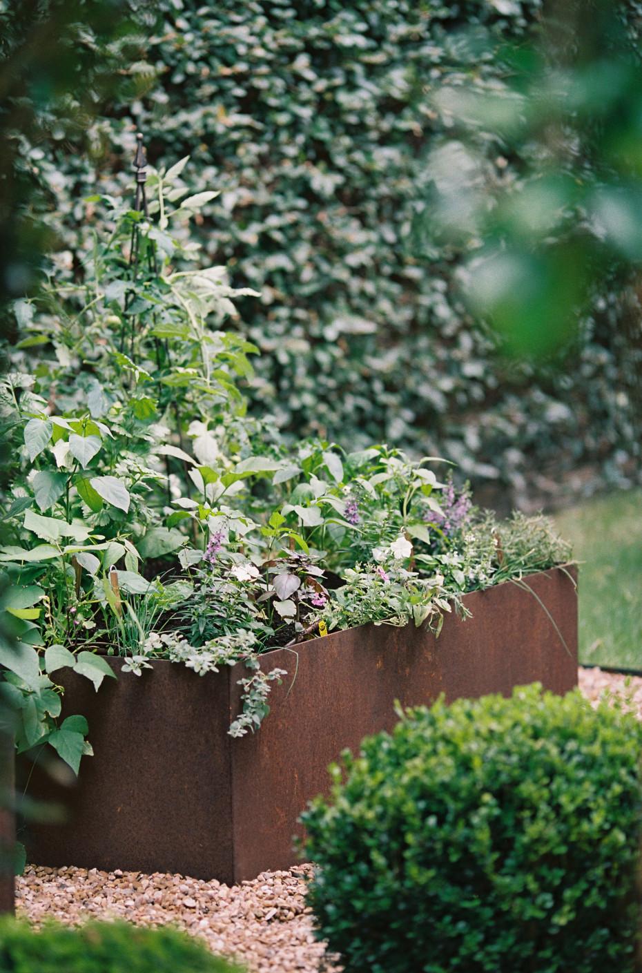 Cor Ten Kitchen Garden Love Gardenary