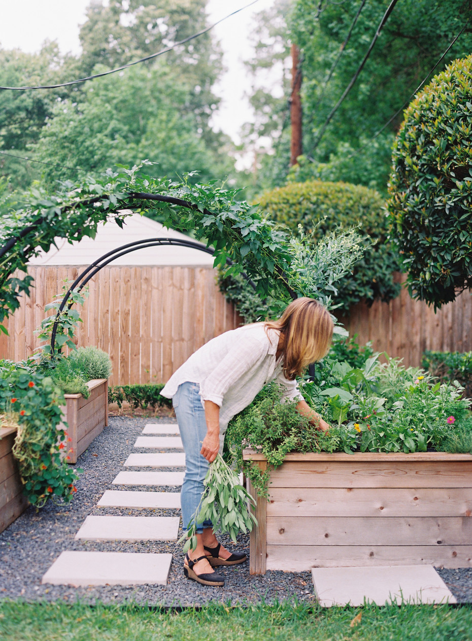 Moon arch trellis from Gardenary Incorporated